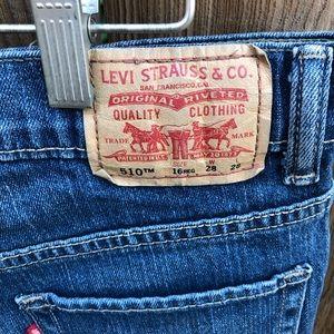 Levi's Shorts - Levi's 510 skinny cut off shorts
